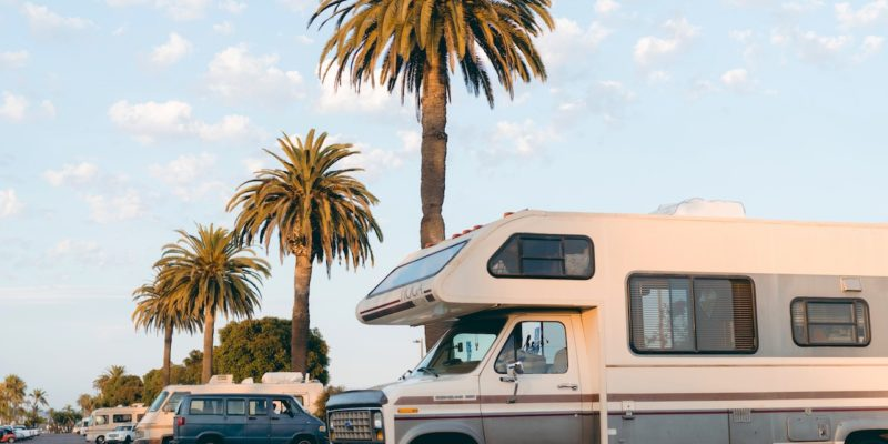 road trip RV with custom mattress