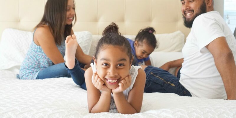 why a king bed is best for a family